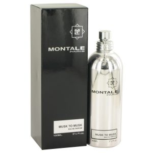 Montale Musk To Musk by Montale Eau De Parfum Spray (Unisex) 3.4 oz Women
