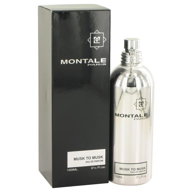 Montale Musk To Musk by Montale Eau De Parfum Spray (Unisex) 3.4 oz Women