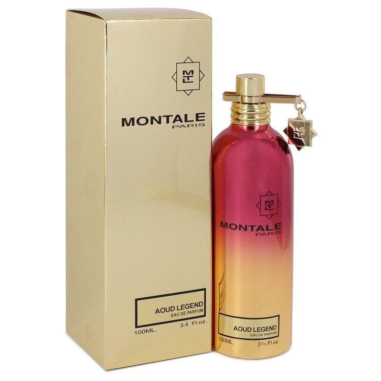Montale Aoud Legend by Montale Eau De Parfum Spray (Unisex) 3.4 oz Women