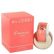 Omnia Coral by Bvlgari Eau De Toilette Spray 1.4 oz Women
