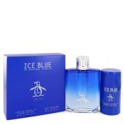Original Penguin Ice Blue by Original Penguin Gift Set -- 3.4 oz Eau De Toilette Spray + 2.75 oz Deodorant Stick Men