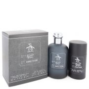 Original Penguin Iconic Blend by Original Penguin Gift Set -- 3.4 oz Eau De Toilette Spray + 2.75 oz Deodorant Stick Men