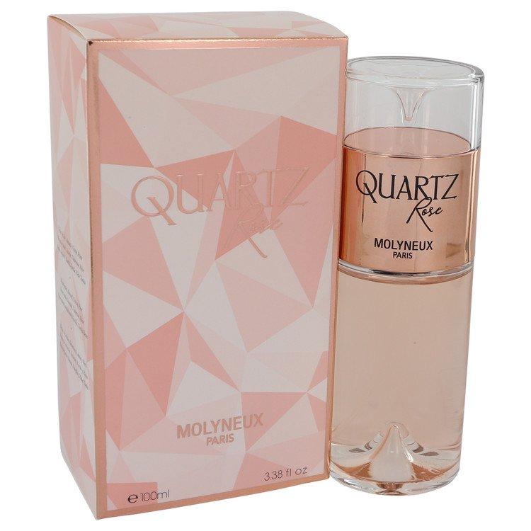 Quartz Rose by Molyneux Eau De Parfum Spray 3.38 oz Women