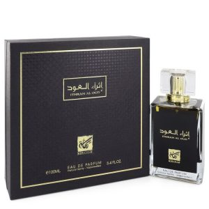 Rihanah Ithrah Al Oud by Rihanah Eau De Parfum Spray (Unisex) 3.4 oz Women