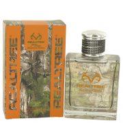 Realtree Mountain Series by Jordan Outdoor Eau De Toilette Spray 3.4 oz Men