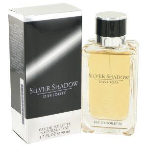 Silver Shadow by Davidoff Eau De Toilette Spray 1.7 oz Men
