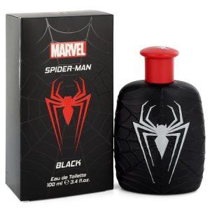 Spiderman Black by Marvel Eau De Toilette Spray 3.4 oz Men