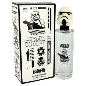 Star Wars Stormtrooper 3D by Disney Eau De Toilette Spray 3.4 oz Men