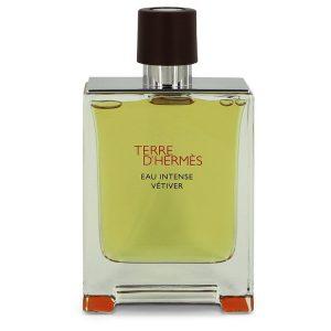 Terre D'hermes Eau Intense Vetiver by Hermes Eau De Parfum Spray (Tester) 3.3 oz Men