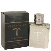 Territoire Platinum by YZY Perfume Eau De Parfum Spray 3.4 oz Men