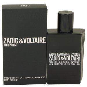 This is Him by Zadig & Voltaire Eau De Toilette Spray 1.6 oz Men