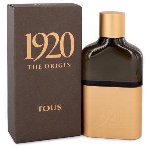 Tous 1920 The Origin by Tous Eau De Parfum Spray 3.4 oz Men
