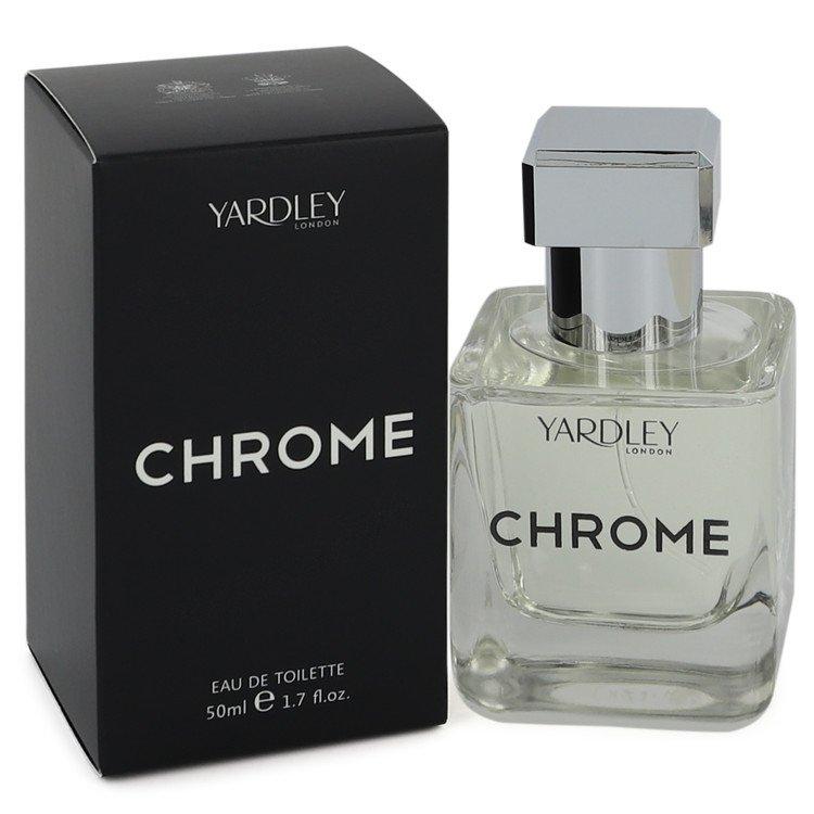 Yardley Chrome by Yardley London Eau De Toilette Spray 1.7 oz Men