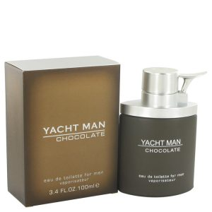 Yacht Man Chocolate by Myrurgia Eau De Toilette Spray 3.4 oz Men