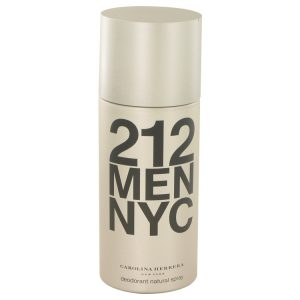 212 by Carolina Herrera Deodorant Spray 5 oz Men