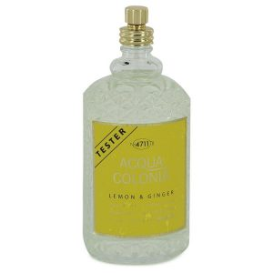 4711 ACQUA COLONIA Lemon & Ginger by Maurer & Wirtz Eau De Cologne Spray (Unisex Tester) 5.7 oz Women
