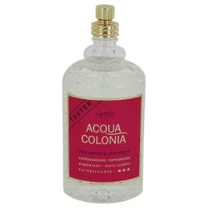 4711 Acqua Colonia Pink Pepper & Grapefruit by Maurer & Wirtz Eau De Cologne Spray (Tester) 5.7 oz Women