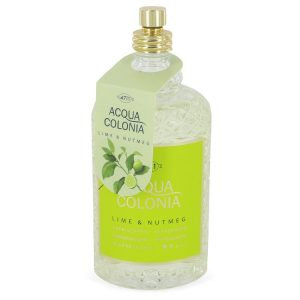 4711 Acqua Colonia Lime & Nutmeg by Maurer & Wirtz Eau De Cologne Spray (Tester) 5.7 oz Women