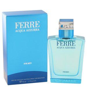 Ferre Acqua Azzurra by Gianfranco Ferre Eau De Toilette Spray 1.7 oz Men