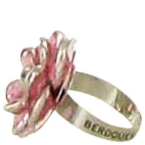 Fleurs De Cerisier Berdoues by Berdoues Flower Cocktail Ring -- Women