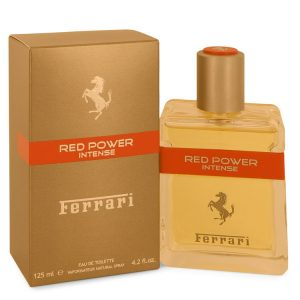 Ferrari Red Power Intense by Ferrari Eau De Toilette Spray 4.2 oz Men
