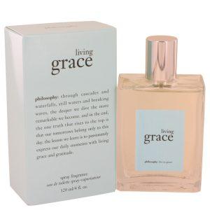 Living Grace by Philosophy Eau De Toilette Spray 4 oz Women