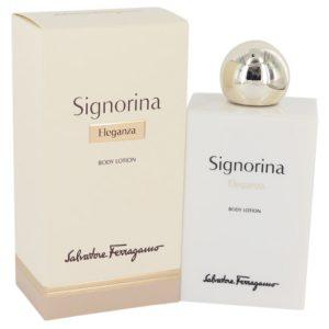 Signorina Eleganza by Salvatore Ferragamo Body Lotion 6.7 oz Women