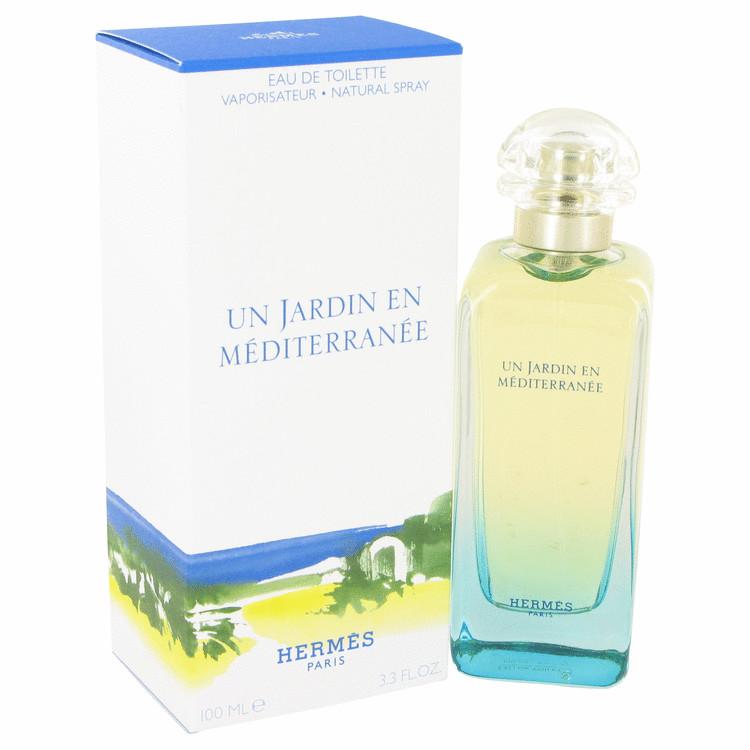 Un Jardin En Mediterranee by Hermes Eau De Toilette Spray (Unisex) 3.4 oz Women