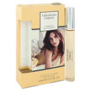 Vera Wang Embrace Marigold and Gardenia by Vera Wang Mini EDT Rollerball Pen .33 oz Women