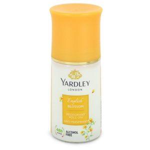 Yardley English Blossom by Yardley London Deodorant Roll-On Alcohol Free 1.7 oz Women