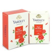 Yardley London Soaps by Yardley London Royal Red Roses Luxury Soap 3.5 oz Women
