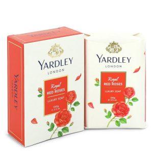 Yardley London Soaps by Yardley London Royal Red Roses Luxury Soap 3.5 oz Women