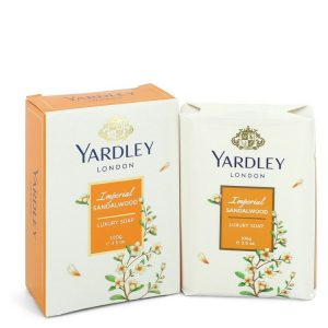 Yardley London Soaps by Yardley London Imperial Sandalwood Luxury Soap 3.5 oz Women