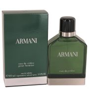Armani Eau De Cedre by Giorgio Armani Eau De Toilette Spray 3.4 oz Men