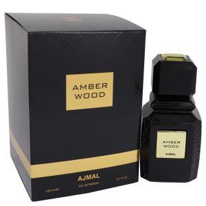 Ajmal Amber Wood by Ajmal Eau De Parfum Spray (Unisex) 3.4 oz Women