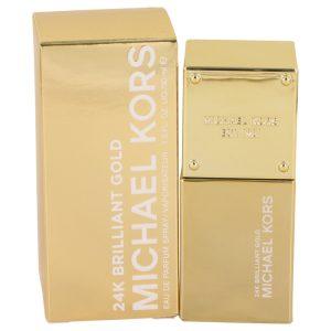 Michael Kors 24K Brilliant Gold by Michael Kors Eau De Parfum Spray 1 oz Women