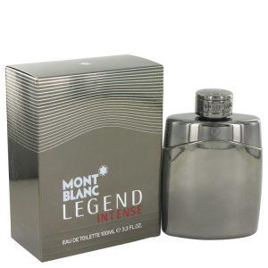 Montblanc Legend Intense by Mont Blanc Eau De Toilette Spray 3.4 oz Men