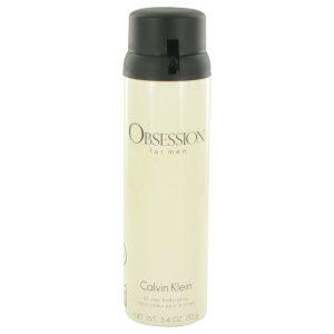 OBSESSION by Calvin Klein Body Spray 5.4 oz Men