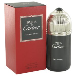 Pasha De Cartier Noire by Cartier Eau De Toilette Spray 3.3 oz Men