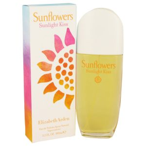 Sunflowers Sunlight Kiss by Elizabeth Arden Eau De Toilette Spray 3.4 oz Women