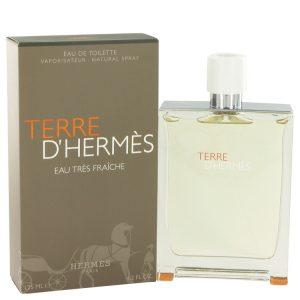 Terre D'Hermes by Hermes Eau Tres Fraiche Eau De Toilette Spray 4.2 oz Men
