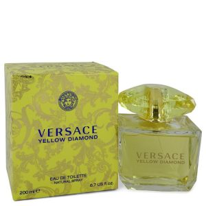 Versace Yellow Diamond by Versace Eau De Toilette Spray 6.7 oz Women